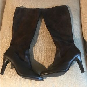 Ralph Lauren Bryce Leather & Suede Boots